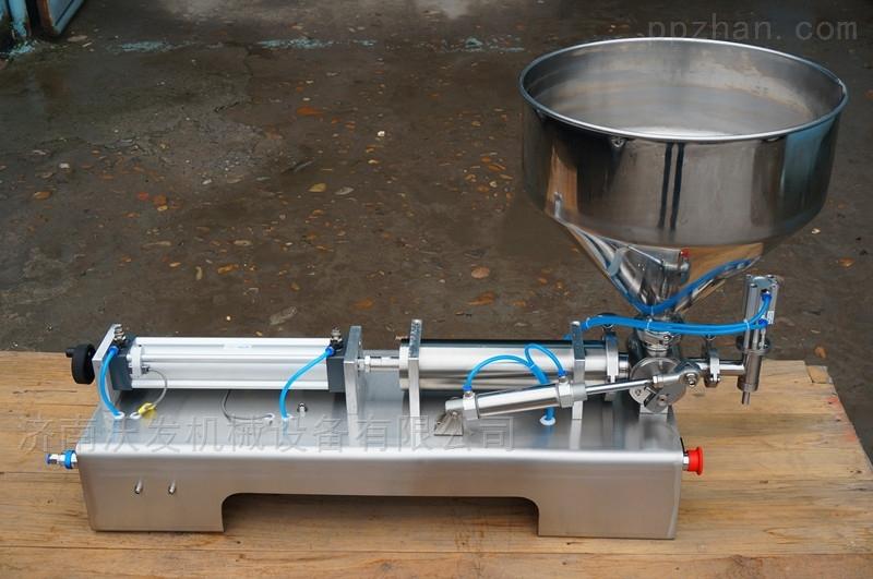 WF膏体灌装机新品--卧式单头活塞式