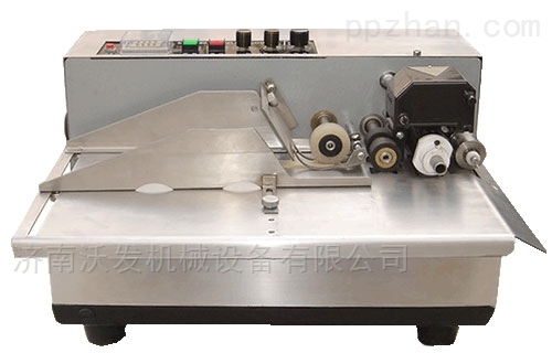 天津鑫沃发MY-380型 面粉厂合格证打码机
