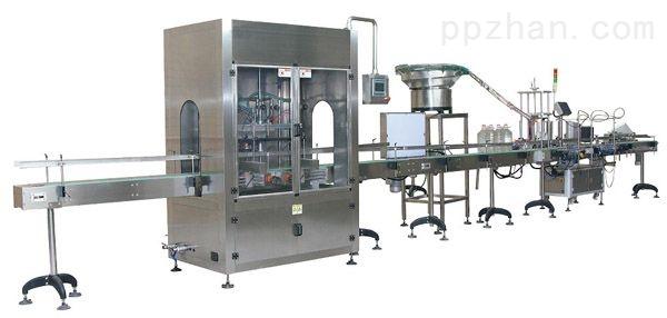 全自动液体大包装灌装生产线