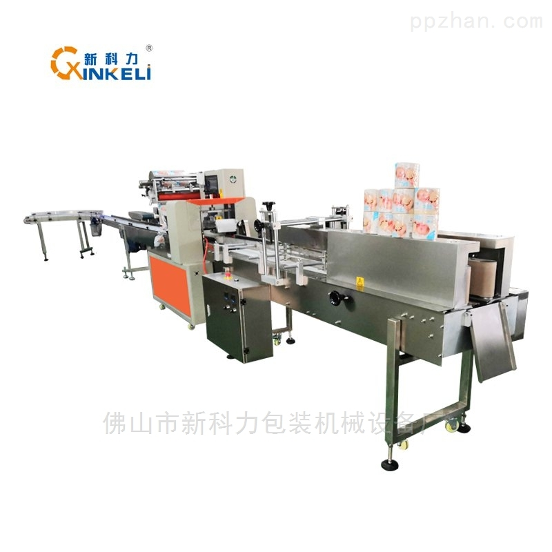 卷纸包装机-厨卫卫生卷纸包装机械