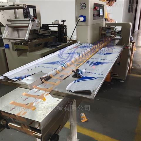 橡皮胶后拉膜包装设备,橡皮泥自动包装机