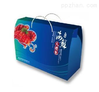 河南大闸蟹包装纸箱坚固稳定厂家直销