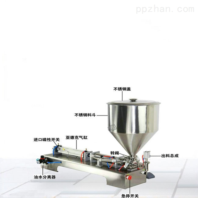 单头酱体定量灌装机