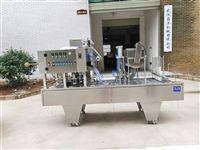 武汉吕工牌全自动杯装酸奶灌装封口机