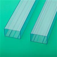 电子元件包装管让利直销电子透明方管吸塑管
